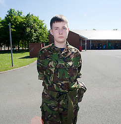 David Houston..Exercise Guards Warrior with the Scots Guards at their Catterick base..Pic ©2010 Michael Schofield. All Rights Reserved.