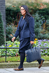 © Licensed to London News Pictures. 17/01/2017. London, UK. International Development Secretary PRITI PATEL  attends a cabinet meeting in Downing Street on Tuesday, 17 January 2017 before Prime Minister Theresa May's Brexit plan speech. Photo credit: Tolga Akmen/LNP