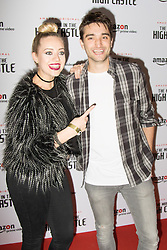 Curzon Bloomsbury, London, December 14th 2016. Celebrities attend the launch of Amazon Prime's European premiere for Season 2 of The Man In The High Castle. PICTURED: Tom Parker, Kelsey Hardwicke