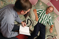 Occupational therapist carrying out a home visit,