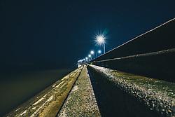 THEMENBILD - Lake Pontchartrain bei Nacht, aufgenommen am 06.01.2019, Metairie, Vereinigte Staaten von Amerika // Lake Pontchartrain at night, Metairie, United States of America on 2019/01/06. EXPA Pictures © 2019, PhotoCredit: EXPA/ Florian Schroetter