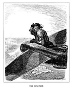The Minotaur (cartoon showing Hitler piloting a Luftwaffe plane in his quest for global domination)