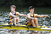 Crew: 29 - Hereford Cathedral Sch HCS-Lester   Event: J16A.2x<br /> <br /> Afternoon Division<br /> Worcester Small Boats Head 2016<br /> <br /> To purchase this photo, or to see pricing information for Prints and Downloads, click the blue 'Add to Cart' button at the top-right of the page.