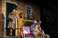 """Dress rehearsal for """"Proposals"""" at the New Space Theater at St Paul's School.   ©2014 Karen Bobotas Photographer"""