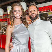 NLD/Amersfoort/20180830 - Boekpresentatie van Nicky Opheij  'On a Mission', Nicky Opheij met DJ La Fuente