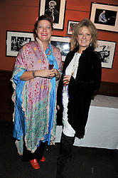 Left to right, HENRIETTA THATHAM and LUCY CLARE at a party to relaunch PR First London, held at the 606 Club, Lots Road, London SW10 on 16th January 2013.