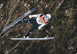 16.02.2020, Kulm, Bad Mitterndorf, AUT, FIS Ski Flug Weltcup, Kulm, Herren, im Bild Anze Lanisek (SLO) // Anze Lanisek of Slovenia during the men's FIS Ski Flying World Cup at the Kulm in Bad Mitterndorf, Austria on 2020/02/16. EXPA Pictures © 2020, PhotoCredit: EXPA/ JFK