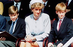 FILE: Princess Diana with William & Harry