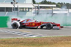 Hockenheim- Sebatsian vettel Ferrari day 11 Sep 2016