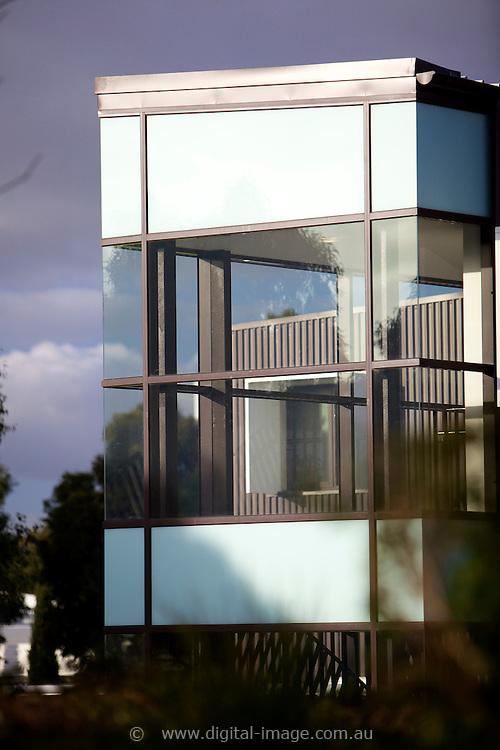 User accomodation at the Australian Synchrotron, external daytime view