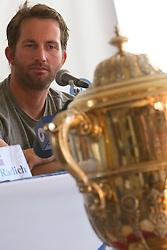 Ben Ainslie stares the Argo Group Gold Cup 2010. Hamilton, Bermuda. 10 October 2010. Photo: Subzero Images/WMRT