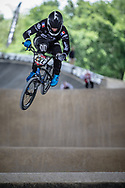 #432 (LE NAGARD Karl) FRA at Round 5 of the 2019 UCI BMX Supercross World Cup in Saint-Quentin-En-Yvelines, France