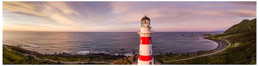 Cape Palliser Lighthouse, Wairarapa.