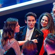 NLD/Baarn/20180410 - 2018 finale 'It Takes 2, Marieke Elsinga, Mika van Leeuwen en Robin Martens, Bert van Leeuwen