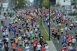 Tekaci na 13. Ljubljanskem maratonu po ulicah Ljubljane, 26. oktobra 2008, Ljubljana, Slovenija. (Photo by Vid Ponikvar / Sportal Images)/ Sportida)