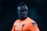 Sadio Mane of Liverpool looks on. Premier league match, Stoke City v Liverpool at the Bet365 Stadium in Stoke on Trent, Staffs on Wednesday 29th November 2017.<br /> pic by Chris Stading, Andrew Orchard sports photography.