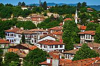 Turquie, Safranbolu, classée patrimoine mondial de l'UNESCO, maison traditionelles ottomanes // Turkey, Safranbolu, old Ottoman town houses, Unesco world heritage