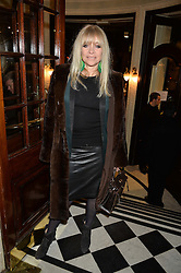 JO WOOD at Beautiful - The Carole King Musical 1st Birthday celebration evening at The Aldwych Theatre, London on 23rd February 2016.