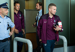 Tom Cleverley during arrival of  England National Football team 1 day before EURO 2016 Qualifications match against Slovenia, on June 13, 2015 in Airport Joze Pucnik, Brnik - Ljubljana, Slovenia. Photo by Vid Ponikvar / Sportida