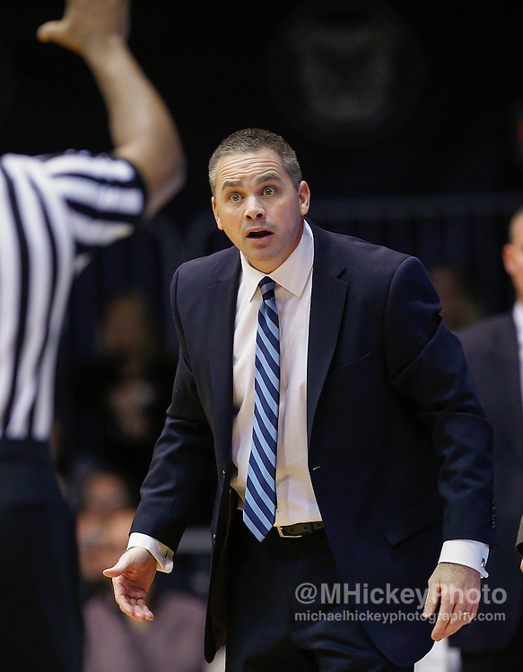 INDIANAPOLIS, IN - DECEMBER 28: Head coach Chris Holtmann of the Butler Bulldogs is seen on the sidelines during the game against the Belmont Bruins at Hinkle Fieldhouse on December 28, 2014 in Indianapolis, Indiana. (Photo by Michael Hickey/Getty Images) *** Local Caption *** Chris Holtmann