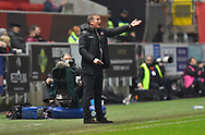 Bolton Wanderers manager Phil Parkinson during the The FA Cup fourth round match between Bristol City and Bolton Wanderers at Ashton Gate, Bristol, England on 25 January 2019.