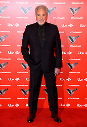 Tom Jones attending The Voice UK 2019 Launch Photocall held at W Hotel, Leicester Square, London. Picture credit should read: Doug Peters/EMPICS