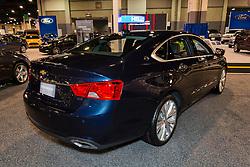 CHARLOTTE, NORTH CAROLINA - NOVEMBER 20, 2014: Chevrolet Impala sedan on display during the 2014 Charlotte International Auto Show at the Charlotte Convention Center.