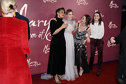 The crew Mary Queen of Scots arrives at the European premiere of Mary Queen of Scots at Cineworld Leicester Square, London.
