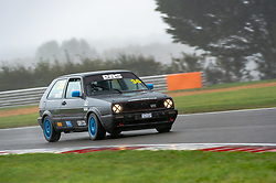 Peter Grist pictured while competing in the 750 Motor Club's Hot Hatch Championship. Picture taken at Snetterton on October 17, 2020 by 750 Motor Club photographer Jonathan Elsey