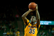 WACO, TX - JANUARY 11: Taurean Prince #35 of the Baylor Bears shoots a free-throw against the TCU Horned Frogs on January 11, 2014 at the Ferrell Center in Waco, Texas.  (Photo by Cooper Neill/Getty Images) *** Local Caption *** Taurean Prince