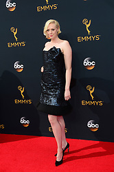 September 18, 2016 - Los Angeles, CA, USA - Gwendoline Christie arrives at the 68th Annual Emmy Awards at the Microsoft Theater in Los Angeles, California on Sunday, September 18, 2016. (Credit Image: © Michael Owen Baker/Los Angeles Daily News via ZUMA Wire)