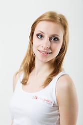 Nika Sunta na izboru za Miss Sporta Slovenije 2014, on January 14, 2014 in Ljubljana, Slovenia. Photo by Vid Ponikvar / Sportida