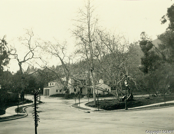 1925 Looking west at Hillside Ave. & Outpost Dr. in the Outpost Estates