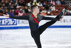 February 7, 2019 - Los Angeles, California, U.S - Andrew Dodds of Australia competes in the Men Short Program during the ISU Four Continents Figure Skating Championship at the Honda Center in Anaheim, California on February 7, 2019. (Credit Image: © Ringo Chiu/ZUMA Wire)