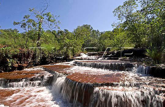 Cachoeira do Lajeado - Rio Lajeado em Ponte Alta do Tocantins  Local: Ponte Alta do Tocantins - TO Data: 02/2008 Tombo:  19DM011 Autor: Delfim Martins