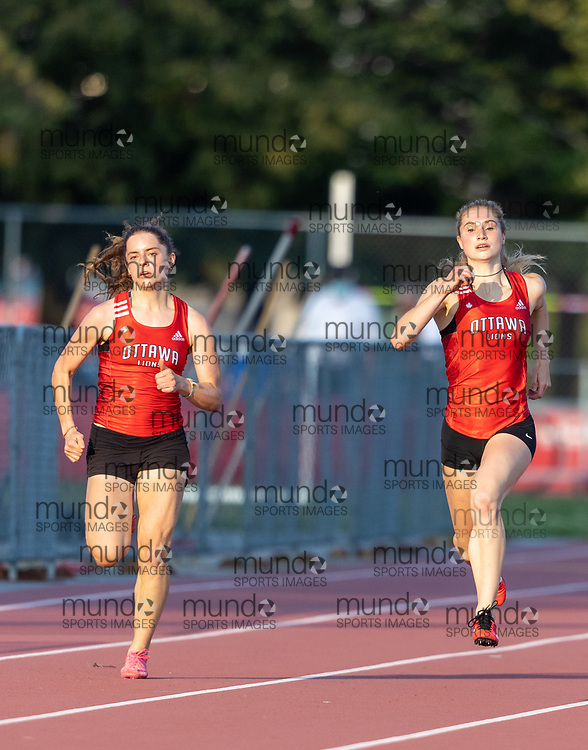 OTTAWA - August 11, 2021: Grace Munro competing at Ottawa Summer Twilight #15 at the Terry Fox Athletic Facility.<br /> <br /> Photograph Copyright 2001 Miles Rowat / Mundo Sport Images
