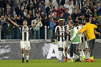 Esultanza Paulo Dybala e giocatori Juventus dopo gol 2-1, goal celebration <br /> Torino 10-03-2017, Juventus Stadium, Football Calcio 2016/2017 Serie A, Juventus - Milan, Foto Filippo Alfero/Insidefoto
