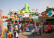 Joyland children's fairground amusement leisure attraction on the seafront, Great yarmouth, Norfolk, England