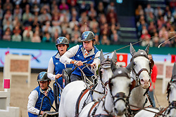 CHARDON Bram (NED), Dreef Inca, Dreef Kapitany, Favory Farao, Favory Xxxi-45-2-6, Siglavy Capriola Beni<br /> Leipzig - Partner Pferd 2020<br /> TRAVEL CHARME Hotels & Resorts Trophy <br /> FEI Driving World Cup™<br /> FEI World Cup Qualifikation der Vierspänner<br /> Zeithindernisfahren für Vierspänner, international<br /> 19. Januar 2020<br /> © www.sportfotos-lafrentz.de/Stefan Lafrentz