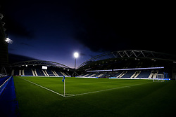 A general view of The John Smith's Stadium, home to Huddersfield Town - Mandatory by-line: Robbie Stephenson/JMP - 03/11/2020 - FOOTBALL - The John Smith's Stadium - Huddersfield, England - Huddersfield Town v Bristol City - Sky Bet Championship