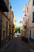 Pathway to the Mediterranean. Sant Pol de Mar, Catalonia