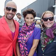 NLD/Amsterdam/20120601 - Uitreiking Talkies Terras Awards 2012, Maik de Boer, Kristina Bzilovic en Bastiaan van Schaik