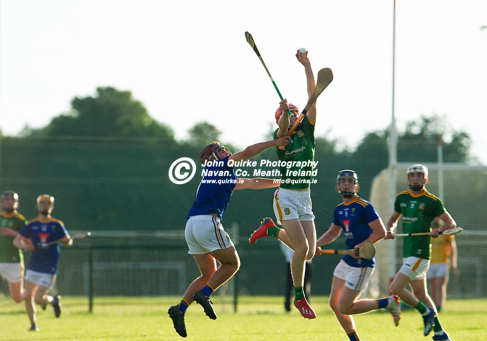 13-07-21. Meath v Wicklow - Leinster U-20 B Hurling Championship (Richie McElligott Cup) 2021 at St. Loman's Park, Trim.<br /> James Murray, Meath in action against Wicklow in the Leinster U-20 B Hurling Championship (Richie McElligott Cup) 2021<br /> Photo: John Quirke / www.quirke.ie<br /> ©John Quirke Photography, 16 Proudstown Road, Navan. Co. Meath. (info@quirke.ie / 046-9028461 / 087-2579454).
