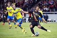Fotball , 1. juni 2014 , Sverige - Belgia<br /> Sveriges Sebastian Larsson och Belgiens Moussa Dembele <br /> <br /> NORWAY ONLY