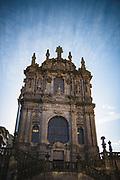 Baroque church (Igreja dos Clérigos) in midday, Porto, Portugal Ⓒ Davis Ulands   davisulands.com