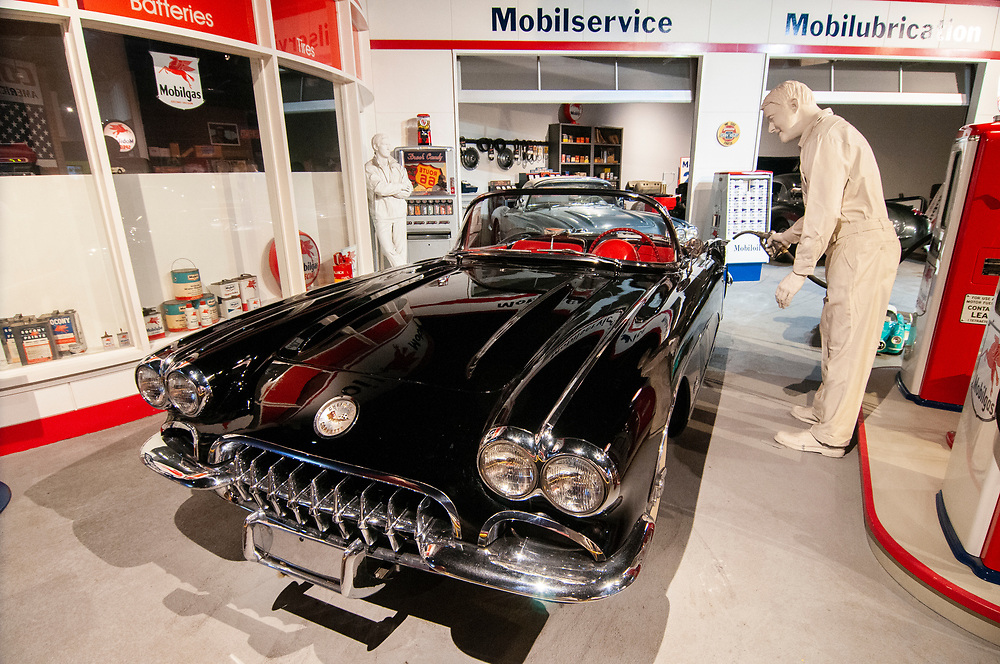 Cars on display at the National Corvette Museum in Bowling Green, Kentucky on Friday, August 18, 2017. Copyright 2017 Jason Barnette