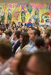 19.08.2015, Kongress, Alpbach, AUT, Forum Alpbach, Eröffnung, im Bild der Saal voller Menschen // during the opening press conference of European Forum Alpbach at the Congress in Alpach, Austria on 2015/08/19. EXPA Pictures © 2014, PhotoCredit: EXPA/ Jakob Gruber