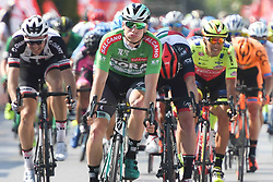 October 10, 2018 - Antalya, Turkey - Sam Bennett (Left-Green Jersey) from Bora - Hansgrohe Team wins the second stage - the Sportoto 154.1km Alanya - Antalya, of the 54th Presidential Cycling Tour of Turkey 2018. .On Wednesday, October 10, 2018, in Antalya, Turkey. (Credit Image: © Artur Widak/NurPhoto via ZUMA Press)