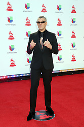 Bad Bunny attending the 19th Annual Latin Grammy Awards 2018, MGM Grand Garden Arena, MGM Grand Hotel & Casino in Las Vegas