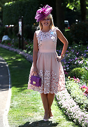 Nicki Chapman during day four of Royal Ascot at Ascot Racecourse.